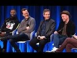 Jamie Foxx, Taron Egerton, Ben Mendelsohn &amp Otto Bathurst