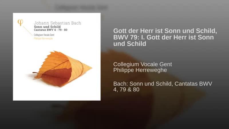 Gott der Herr ist Sonn und Schild BWV 79 I Gott der Herr ist Sonn und Schild