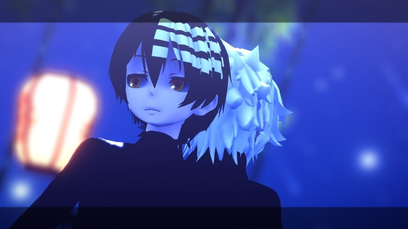 MMD x Soul Eater Your name Sparkle 『Soul x Kid 』