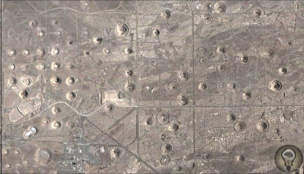 Как выглядит самая большая воронка от ядерного взрыва В начале 50-х годов американские ученые предложили идею использования энергии ядерного взрыва в так называемых мирных целях. Предполагалось,