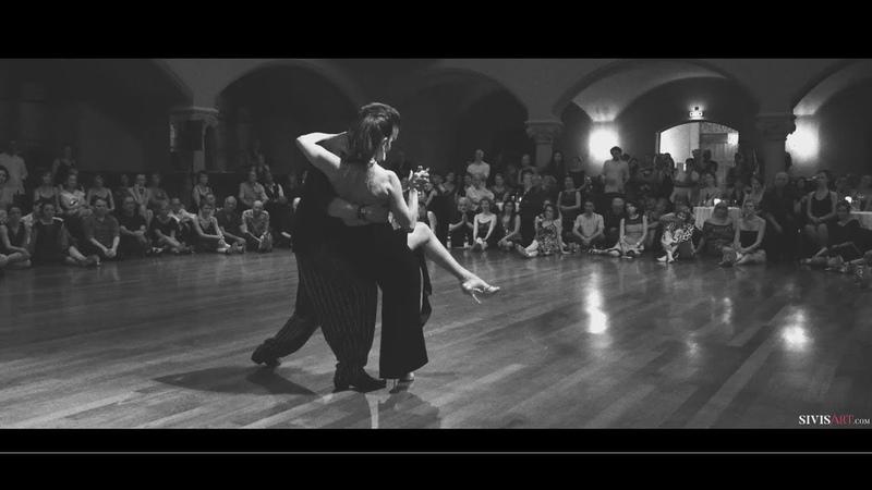 Mariano Chicho Frumboli Moira Castellano - Gymnopedie - Tango exhibition by Sivis'Art