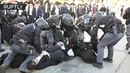 Chaos, scuffles arrests as ultra-Orthodox Jews protest military draft