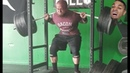 4 Minutes Of Squat Fails When The Bar Bends