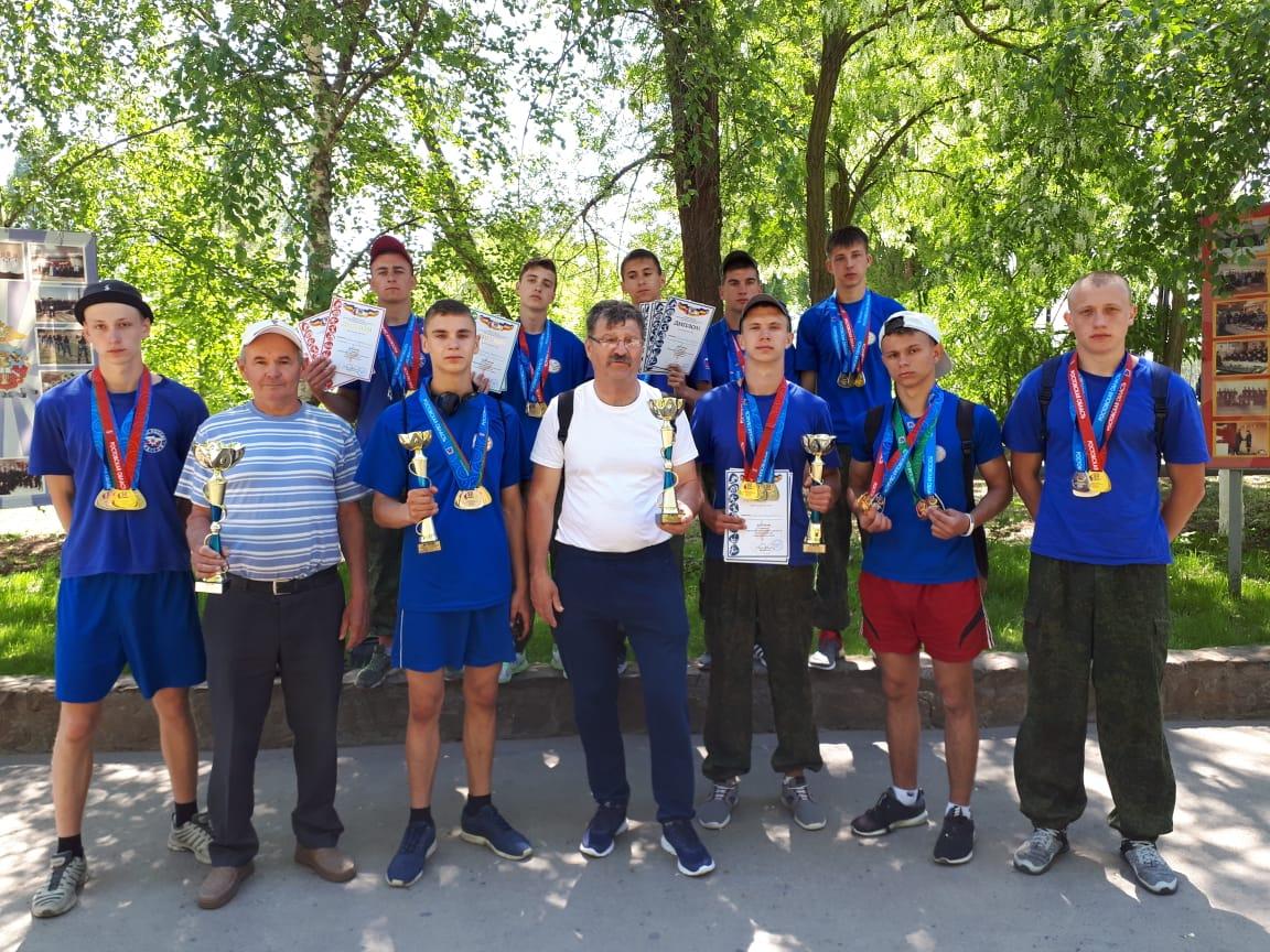 Таганрогские допризывники заняли второе место на соревнованиях в Волгодонске