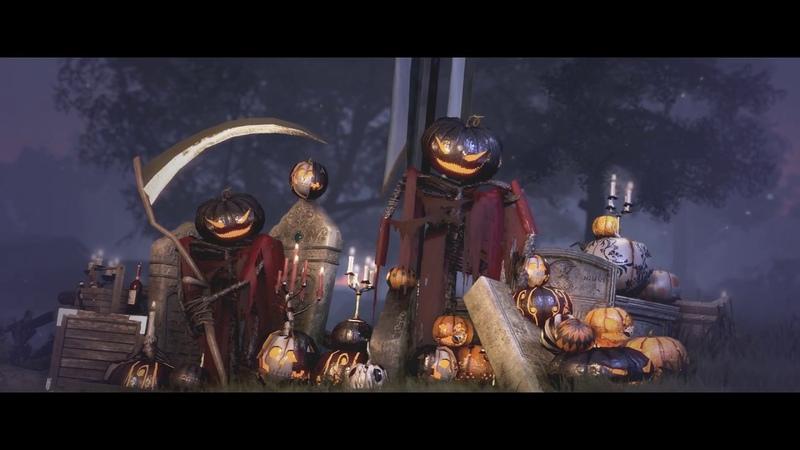 Трейлер Хеллоуинского ивента (в нем показан новый костюм с крыльями, и новый Хеллоуинский босс)