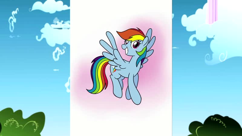How To Draw Rainbow Dash! Official Clip ¦ MLP Friendship is Magic