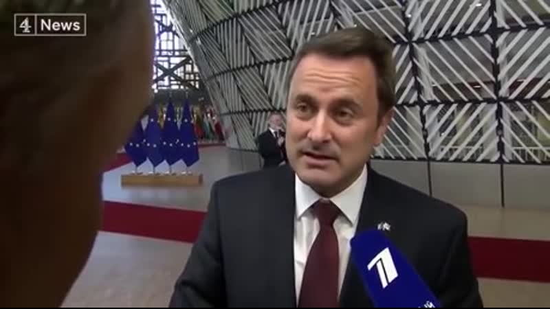 The prime minister of Luxembourg giving a British reporter a reality check