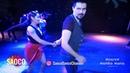 Denis Zolotarev and Arcadia Astorga Salsa Dancing at 2nd Moscow MamboMania weekend, Sun 10.03.2019