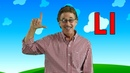 Letter L | Sing and Learn the Letters of the Alphabet | Learn the Letter L | Jack Hartmann