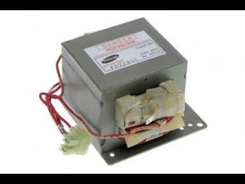 Точечная контактная сварка часть 1 Трансформатор от микроволновки магнитные шунты