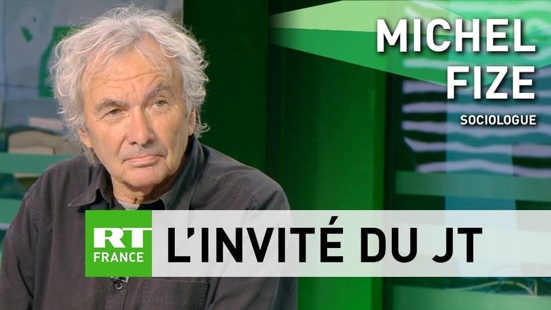 Michel Fize Les Gilets jaunes c'est une lutte partagée par beaucoup de Français
