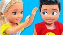 ДЕВОЧКИ ПРОТИВ МАЛЬЧИКОВ! Мультик Барби про школу. Играем в куклы