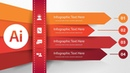 Make a 3D infographic | Combination of Minimalist Design | Adobe Illustrator Tutorial