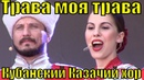 Песня Трава моя трава Кубанский Казачий хор русские народные песни для души