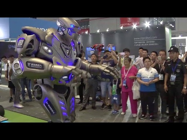 China International Robot Show draws picture of robotic industry's future