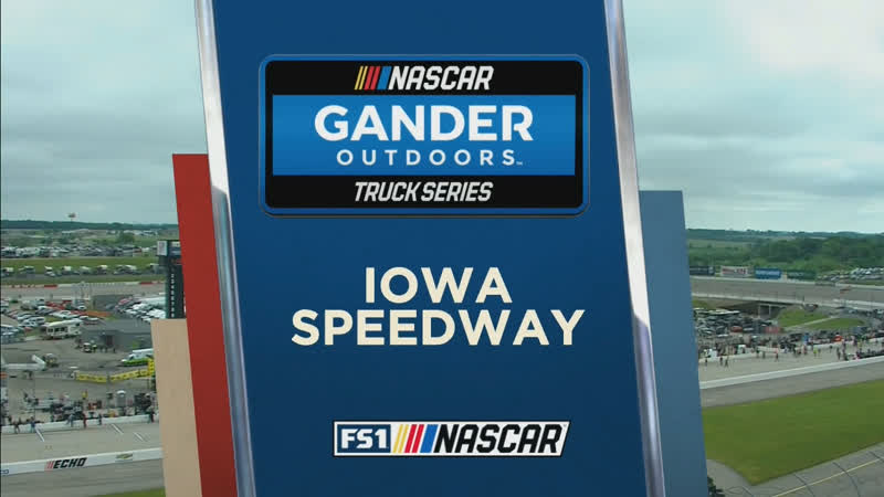 2019 NASCAR Gander Outdoors Truck Series - Round 10 - Iowa 200