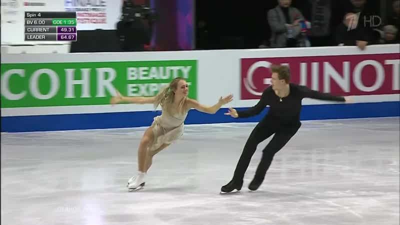 GPF 2018. Vancouver. Ice Dance FD. Victoria SINITSINA ⁄ Nikita KATSALAPOV
