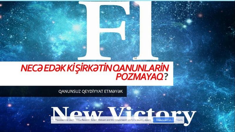 Faberlik şirkətinə qanunsuz qeydiyyat перерегистрация проектfaberlicNewVictory