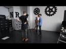 Солнце Бекстейдж со съемок клипа Ядовитый дым mp4