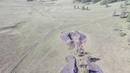 Знаменитый Пазырыкский могильник съемка с квадрокоптера