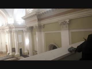 Трисвятое. Фрагмент репетиции 15.12.18. Базилика Св. Екатерины.