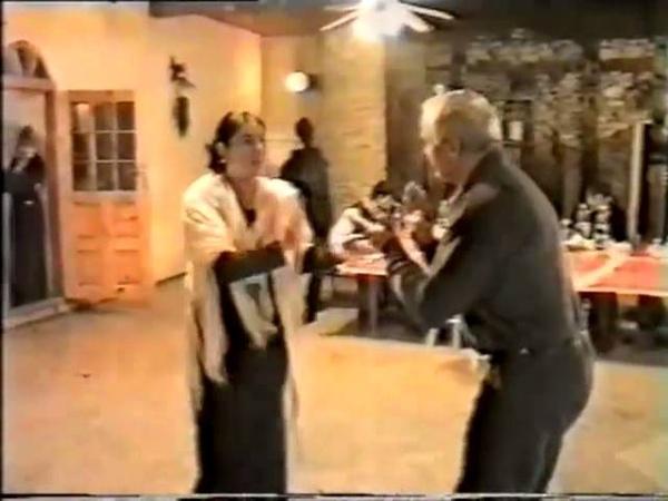 Синдиков и Махаева танцуют. Снимал Магомед Чанкалаев