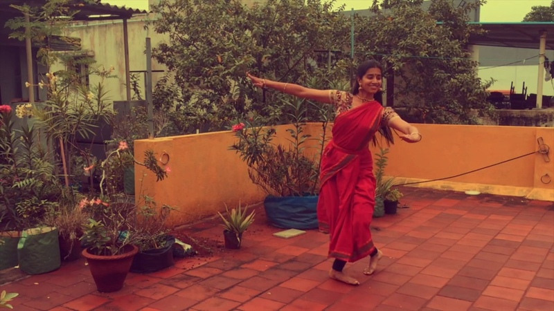 Bharatanatyam Cover of EDM Alarippu Indian Raga