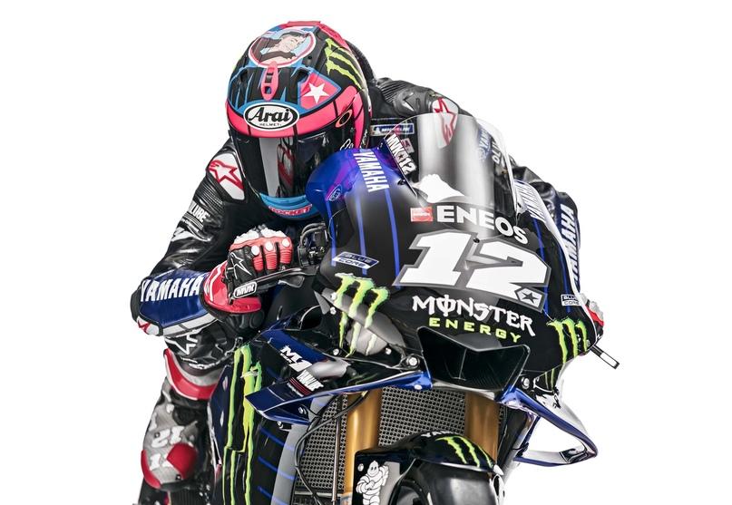 Команда Yamaha Monster Energy 2019 (полный фотосет)