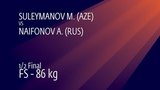 12 FS - 86 kg M. SULEYMANOV (AZE) v. A. NAIFONOV (RUS)