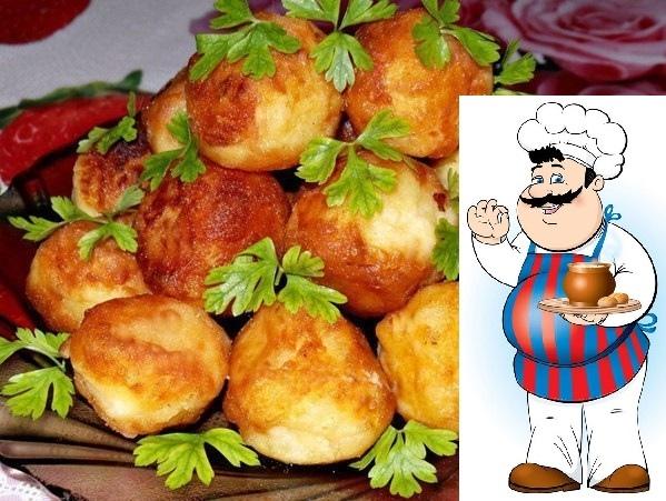 Картофельные шарики  интересное и необычное блюдо
