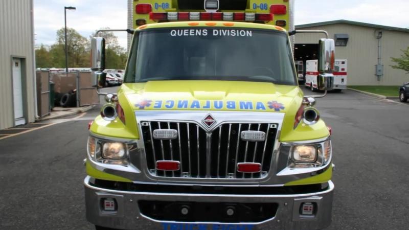 Queens Hatzolah 2012 Horton 623 Terrastar 15319 VCI New Ambulance Delivery