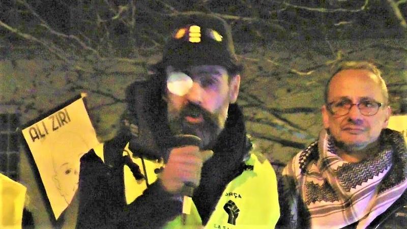 Jérome Rodrigues lance un appel aux banlieues à rejoindre les Gilets jaunes - Argenteuil -13.02.19