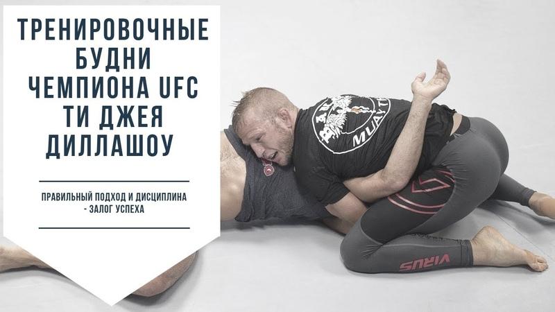 СЕКРЕТЫ ПОДГОТОВКИ ЧЕМПИОНОВ UFC Ти Джей Диллашоу