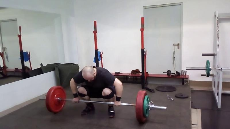 26.02.2019 на грудь в сед, 90-95-100 кг