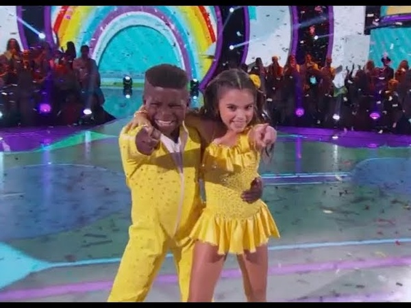 Ariana Greenblat Artyon Celestine - Dancing With The Stars Juniors (DWTS Juniors) Episode 1