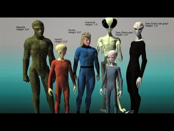 6 razas extraterrestres que actualmente luchan por el control de la Tierra