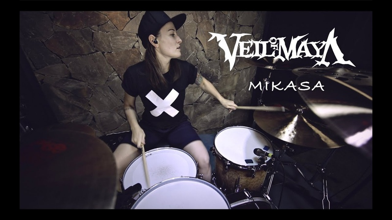Veil of Maya - Mikasa (drum cover by Vicky Fates)