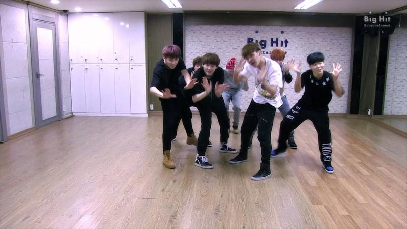 140216 방탄소년단 '상남자(Boy In Luv)' dance practice
