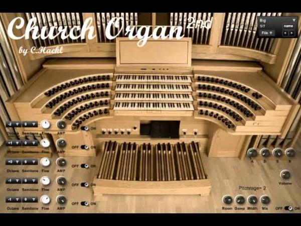 Church Organ 2nd VST by C Hackl