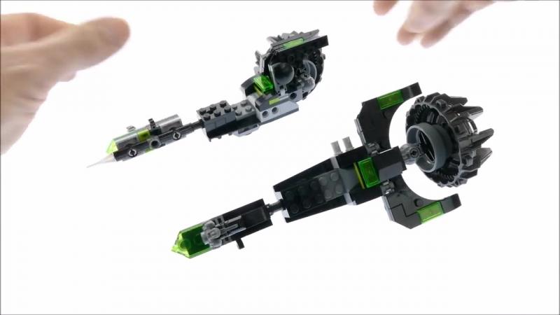 Сборка Lego_Nexo_Knights Боевая машина близнецов