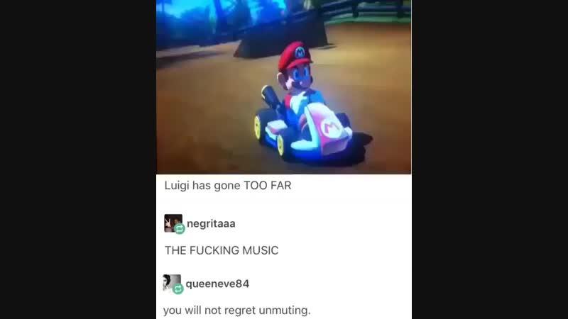 Luigi has gone too far