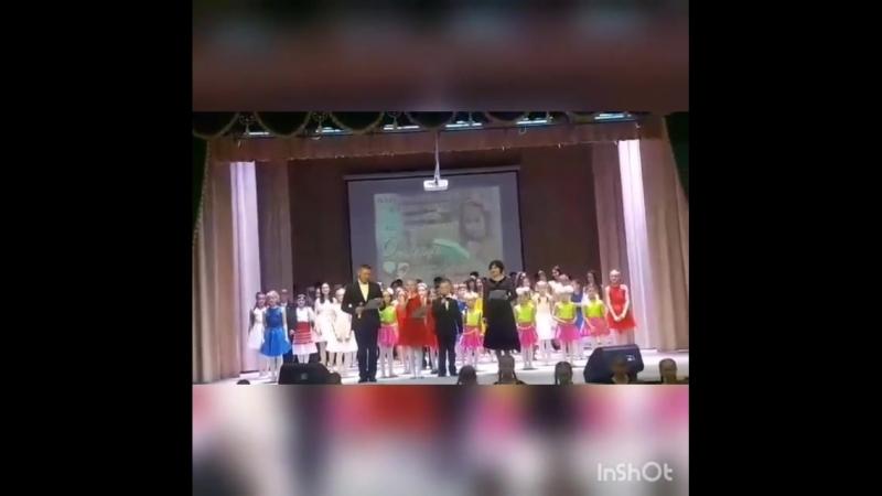 Учащихся 1 гимназии пгт Богатые Сабы.