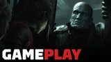 Resident Evil 2 - Claire and Tyrant Gameplay