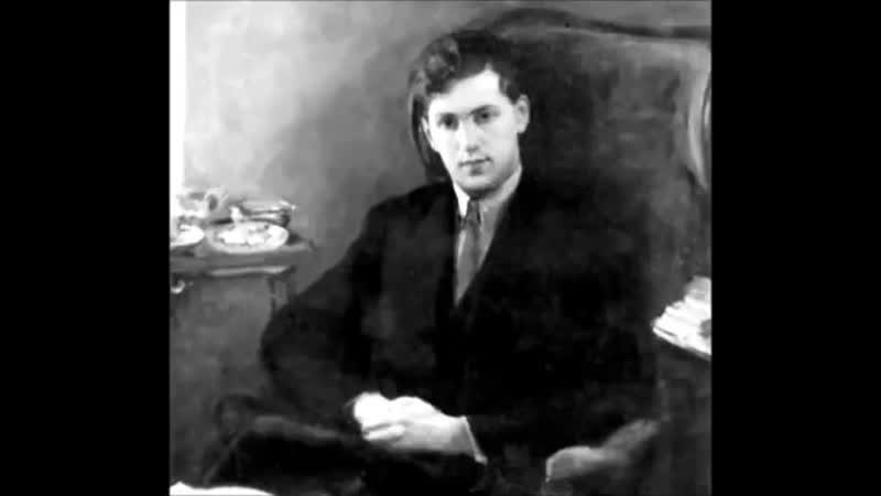 Vladimir Sofronitsky plays Schubert Liszt Barcarolle _ Auf dem Wasser zu singen