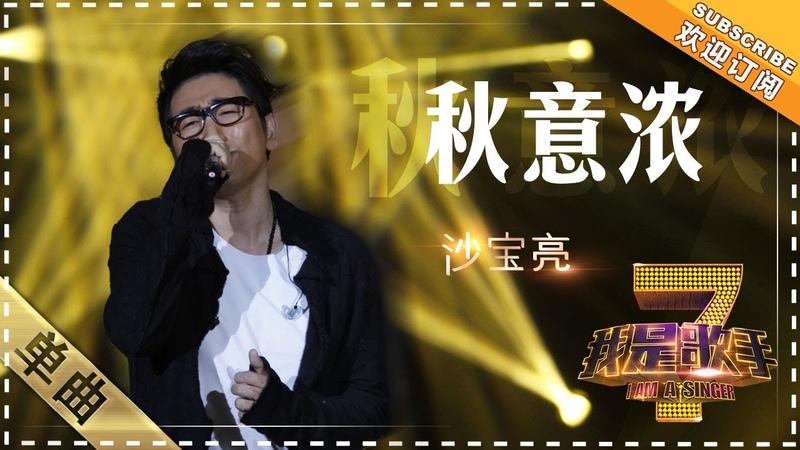 沙宝亮《秋意浓》 - 单曲纯享《我是歌手》I AM A SINGER【歌手官方音乐频道】