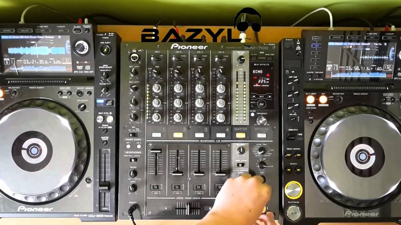 BAZYL - New Year Mix 2015 1 January Electro house 2015 CDJ-2000 NEXUS DJM 700