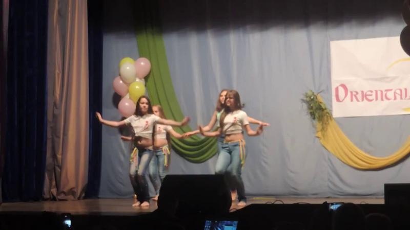 2-ой отчетный концерт студии восточного танца ORIENTAL