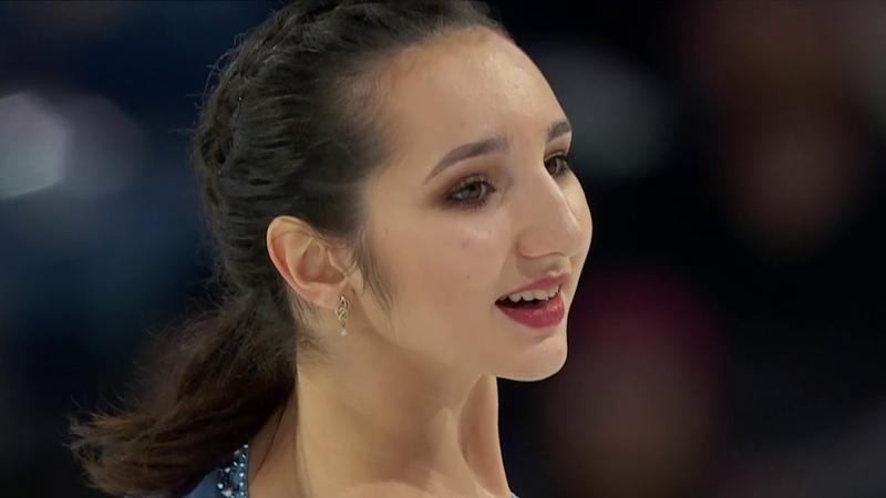 Polina TSURSKAYA Полина Цурская SP - 2018 Skate America