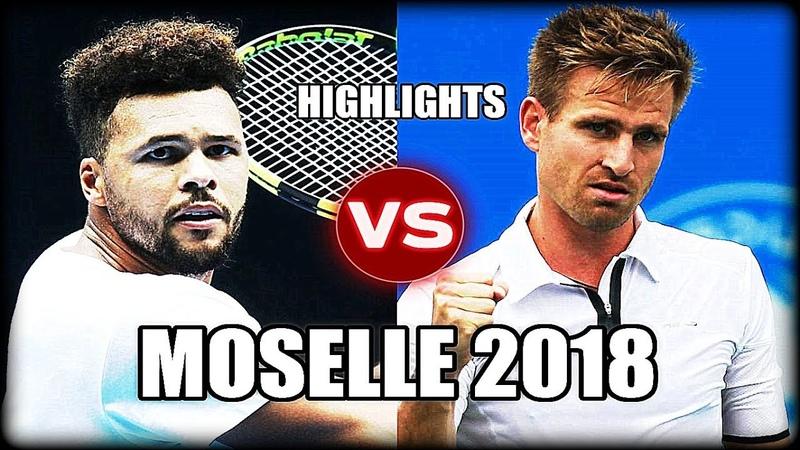 Jo-Wilfried Tsonga vs Peter Gojowczyk MOSELLE 2018 Highlights