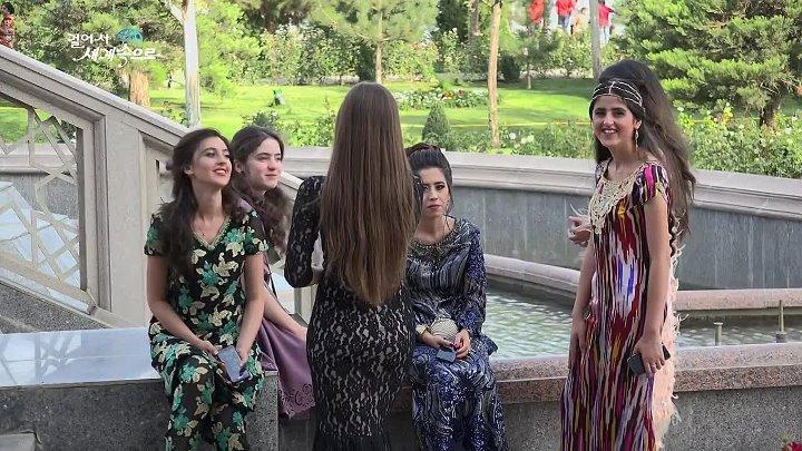 【K】Tajikistan Travel-Dushanbe _Dushanbe_Monday_Market_Ismail Samani_Statue